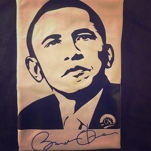 Other - Barack Obama Tan T Shirt